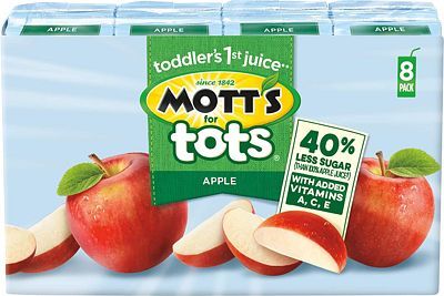 Purchase Mott's For Tots Apple, 6.75 Fluid Ounce Box, 8 Count (Pack of 4) at Amazon.com