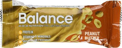 Purchase Balance Bar, Healthy Protein Snacks, Peanut Butter, 1.76 oz, 6 Count at Amazon.com