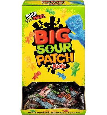 Purchase 240 Count Bulk SOUR PATCH KIDS Sweet & Sour Candy, Individually Wrapped Pack at Amazon.com