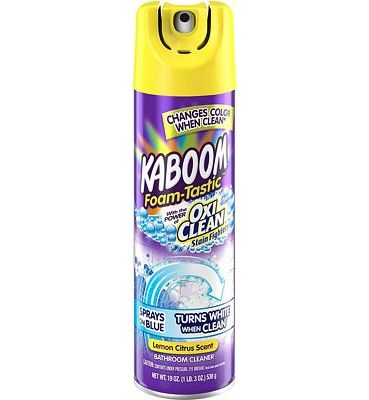 Purchase Kaboom Foam-Tastic Bathroom Cleaner with OxiClean, Citrus 19oz. at Amazon.com