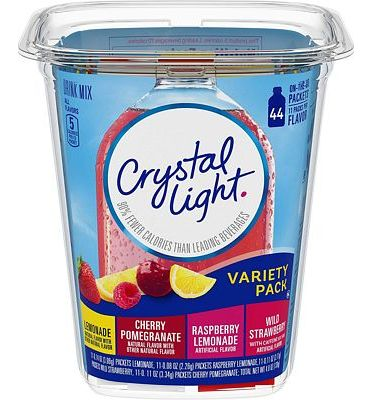 Purchase Crystal Light Variety Pack Drink Mix (44 On the Go Packets) at Amazon.com