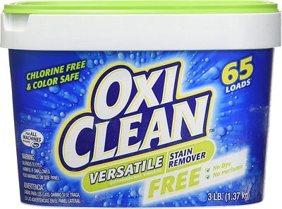 Purchase OxiClean Versatile Stain Remover Free, 3 Lbs at Amazon.com
