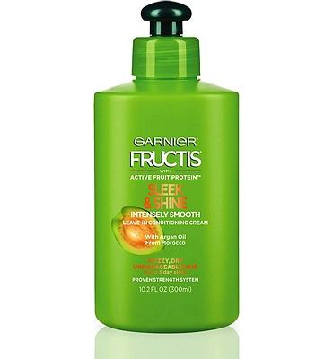 Purchase Garnier Fructis Sleek & Shine Intensely Smooth Leave-In Conditioning Cream, 10.2 Ounce at Amazon.com