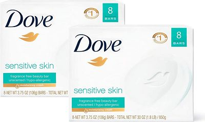 Purchase Dove Beauty Bar Sensitive Skin 4 Ounce at Amazon.com