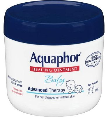 Purchase Aquaphor Baby Healing Ointment - Advance Therapy for Diaper Rash, Chapped Cheeks and Minor Scrapes - 14. oz Jar at Amazon.com