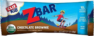 Purchase Clif Kid ZBAR - Organic Granola Bars - Chocolate Brownie - (1.27 Ounce Energy Bars, Kids Snacks, 18 Count) at Amazon.com