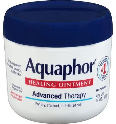 Purchase Aquaphor Healing Ointment - Moisturizing Skin Protectant for Dry Cracked Hands, Heels and Elbows - 14 oz. Jar at Amazon.com