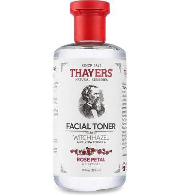 Purchase Thayers Alcohol-Free Rose Petal Witch Hazel Toner with Aloe Vera Formula-12 Oz (Facial Toner) at Amazon.com
