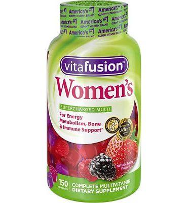 Purchase Vitafusion Women's Gummy Vitamins, 150 Count at Amazon.com