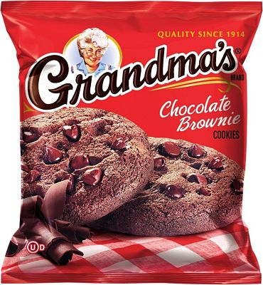 Purchase Grandma's Chocolate Brownie Cookies, 2.5 Ounce (Pack of 60) at Amazon.com