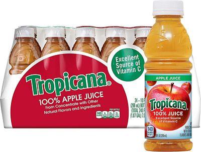 Purchase Tropicana Apple Juice, 10 oz., 24 Count at Amazon.com