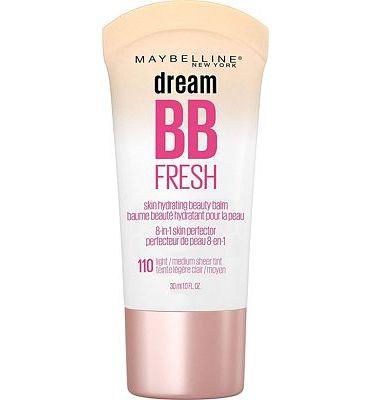 Purchase Maybelline Dream Fresh BB Cream, Light/Medium, 1 Ounce at Amazon.com