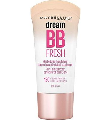 Purchase Maybelline New York Makeup Dream Fresh BB Cream, Medium Skin tones, BB Cream Face Makeup, 1 fl oz at Amazon.com