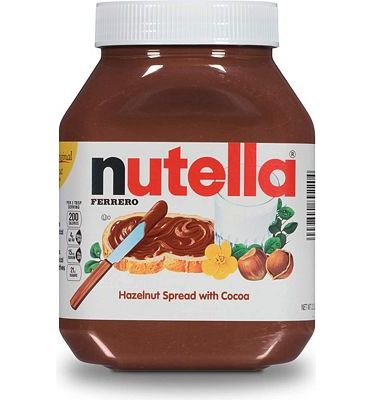 Purchase Nutella Chocolate Hazelnut Spread, Perfect Topping for Pancakes, 35.2 Oz Jar at Amazon.com