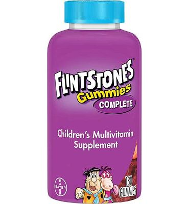 Purchase Flintstones Children's Complete Multivitamin Gummies, 180 Count at Amazon.com