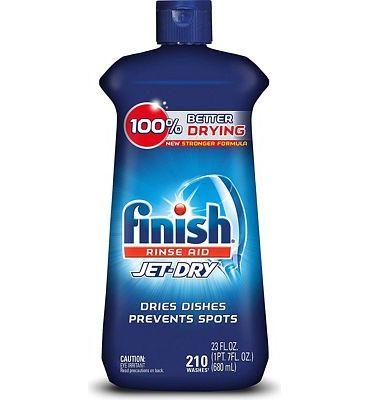Purchase Finish Jet-Dry Rinse Aid, 23oz, Dishwasher Rinse Agent & Drying Agent at Amazon.com