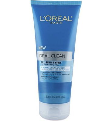 Purchase L'Oreal Paris Ideal Clean Foaming Gel Facial Cleanser, All Skin Types at Amazon.com