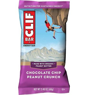 Purchase CLIF BAR - Energy Bars - Chocolate Chip Peanut Crunch - (2.4 Ounce Protein Bars, 12 Count) at Amazon.com