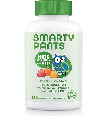 Purchase SmartyPants Kids Complete and Fiber Gummy Vitamins, 120 Count at Amazon.com