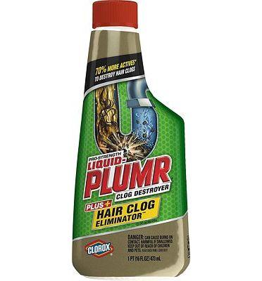 Purchase Liquid-Plumr Hair Clog Eliminator, Liquid Drain Cleaner - 16 Ounces at Amazon.com