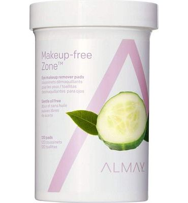 Purchase Almay Eye Makeup Remover Pads, Oil Free, Hypoallergenic, Free from Fragrance, 120 pads at Amazon.com