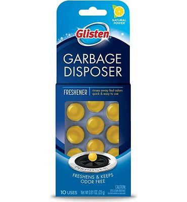 Purchase Glisten Disposer Care Freshener, Lemon Scent, 10 Use at Amazon.com