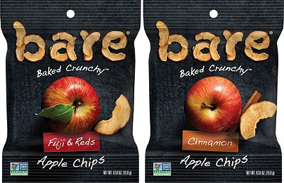 Purchase Bare Baked Crunchy Apple Chips, Variety Pack, Gluten Free, 0.53 Ounce Bag, 24 Count at Amazon.com