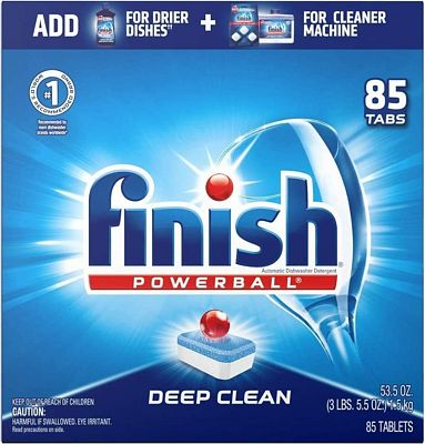 Purchase Finish - All in 1-85ct - Dishwasher Detergent - Powerball - Dishwashing Tablets - Dish Tabs - Fresh Scent at Amazon.com