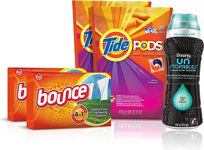 Purchase Tide Amazing Laundry Bundle (68 Loads): Tide PODS Laundry Detergent, Bounce Dryer Sheets and Downy Unstopables Beads at Amazon.com