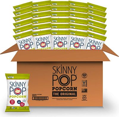 Purchase SKINNYPOP Original Popped Popcorn, 100 Calorie Bags (Pack of 30) at Amazon.com