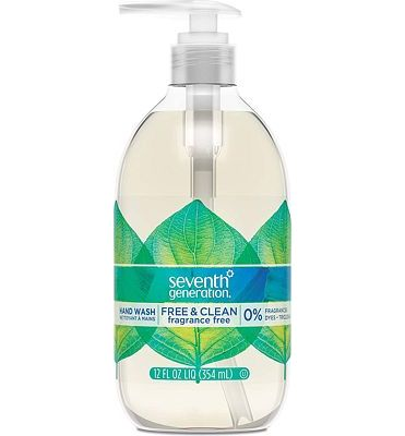 Purchase Seventh Generation Hand Wash Soap, Free & Clean Unscented, 12 Fl Oz, (Pack of 8) (Pack May Vary) at Amazon.com