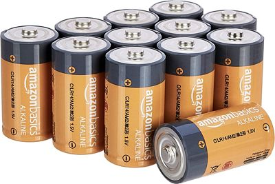 Purchase AmazonBasics C Cell Everyday 1.5 Volt Alkaline Batteries - Pack of 12 at Amazon.com