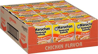 Purchase Maruchan Instant Lunch Chicken Flavor, 2.25 Oz, Pack of 12 at Amazon.com