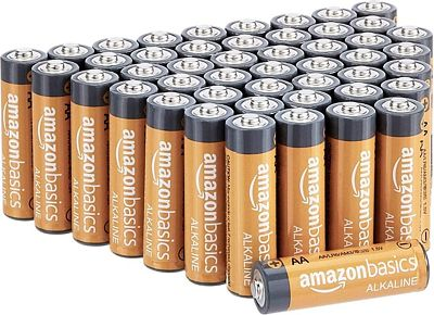 Purchase AmazonBasics AA 1.5 Volt Performance Alkaline Batteries - Pack of 48 at Amazon.com