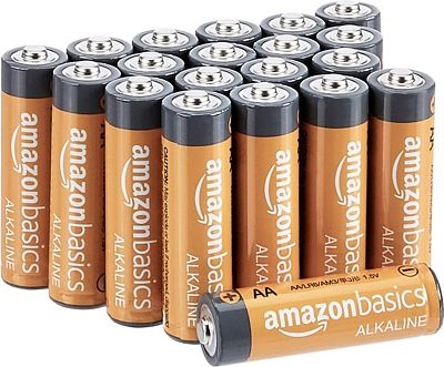 Purchase AmazonBasics AA 1.5 Volt Performance Alkaline Batteries - Pack of 20 at Amazon.com