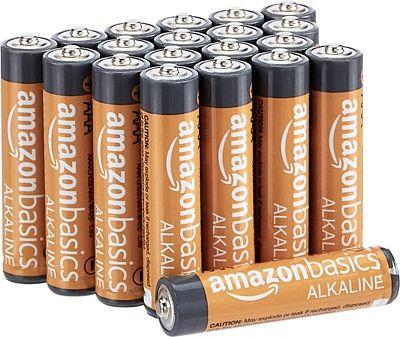 Purchase AmazonBasics AAA 1.5 Volt Performance Alkaline Batteries - Pack of 20 at Amazon.com