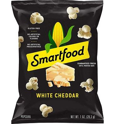 Purchase Smartfood White Cheddar Flavored Popcorn, 1 Ounce (Pack of 64) at Amazon.com