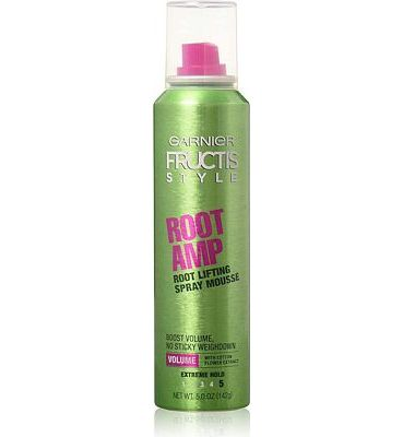 Purchase Garnier Fructis Root Amp Root Lifting Spray Mousse, 5 oz at Amazon.com