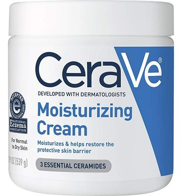 Purchase CeraVe Moisturizing Cream, 19 Ounce, Daily Face and Body Moisturizer for Dry Skin at Amazon.com