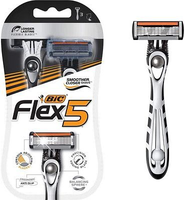 Purchase BIC Flex 5 Disposable Razor, Men, 3-Count at Amazon.com