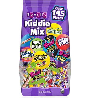 Purchase Brach's Kiddie Mix Variety Pack Individually Wrapped Candies, 3 Pound Bulk Candy Bag Individually Wrapped, Great for Parties at Amazon.com