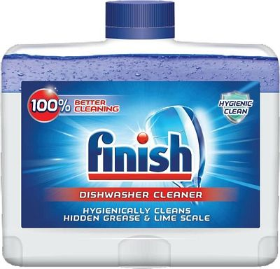 Purchase Finish Dual Action Dishwasher Cleaner: Fight Grease & Limescale, Fresh, 8.45oz at Amazon.com