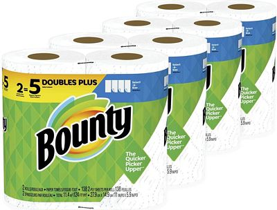 Purchase Bounty Select-A-Size, 8 Rolls at Amazon.com
