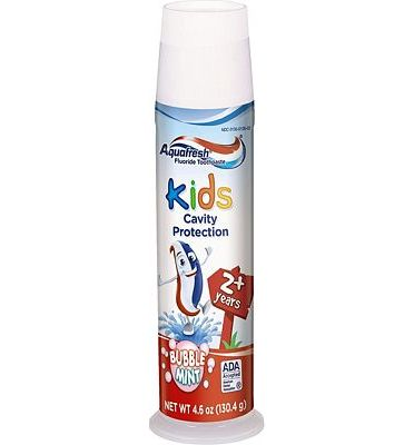 Purchase Aquafresh Kids Toothpaste, Bubble Mint, 4.6 Ounce at Amazon.com