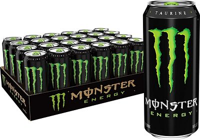 Purchase Monster Energy Drink, Green, Original, 16 Ounce (Pack of 24) at Amazon.com