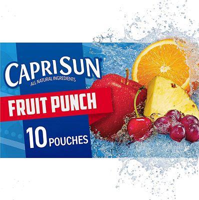 Purchase Capri Sun Fruit Punch Juice Drink, 60 Fl. Oz (Pack of 4) at Amazon.com