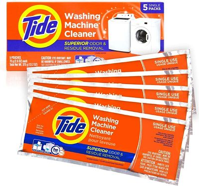 Purchase Tide Washing Machine Cleaner 5 Count at Amazon.com