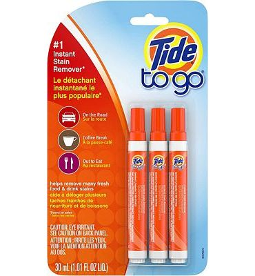 Purchase Tide To Go Instant Stain Remover Liquid Pen, 3 Count at Amazon.com
