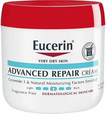 Purchase Eucerin Advanced Repair Cream - Fragrance Free, Full Body Lotion for Very Dry Skin - 16 oz. Jar at Amazon.com
