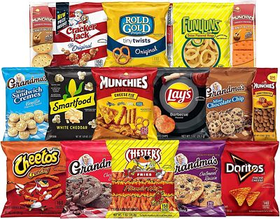 Purchase Ultimate Snack Care Package, Variety Assortment of Chips, Cookies, Crackers & More, 40 Count at Amazon.com